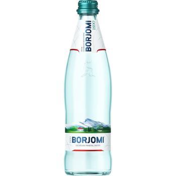 Вода Borjomi мінеральна сильногазована 0,5л