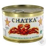 Chatka in pickle crab 60% 158g