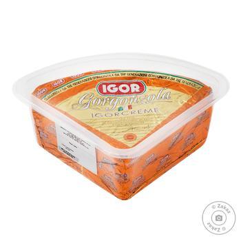 Сыр IGOR Gorgonzola Cremosa мягкий 48% - купить, цены на Восторг - фото 1