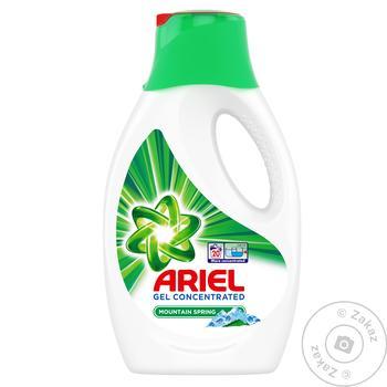 Жидкий стиральный порошок Ariel Горный родник 1,1л