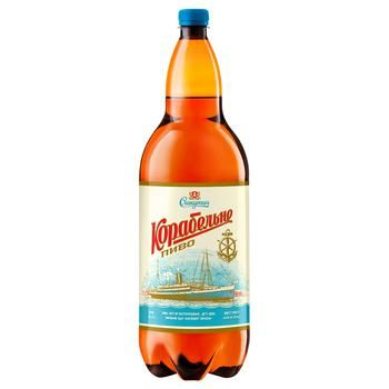 Slavutych Korabelne Light Beer 4,4% 2l