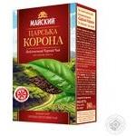 Чай чорний Майский Царська корона 180г