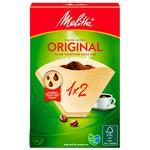 Фильтр Melitta для кофе бумажный 1x2см 40шт