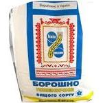 Борошно пшеничне вищого сорту 5000г Київ Млин