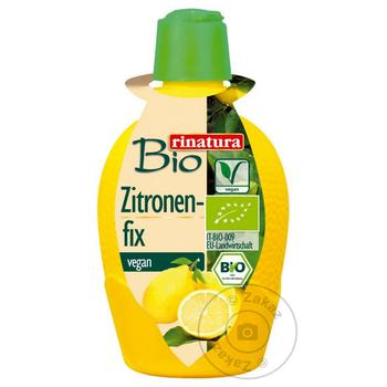 Концентрат лимонного сока Rinatura 100мл - купить, цены на Ашан - фото 1