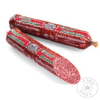Колбаса Салями Охотничья Ятрань сырокопченая высший сорт