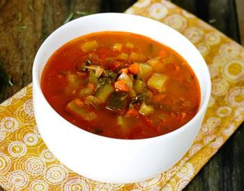 Овочевий суп по-прованськи