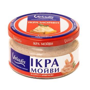 Ікра Мойви в соусі з креветкою Veladis 180г - купити, ціни на Ашан - фото 2