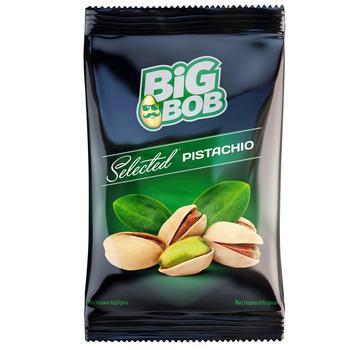 Фисташки Big Bob Отборные жареные соленые 90г - купить, цены на СитиМаркет - фото 1