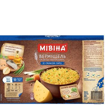 Mivina Instant Noodles With Cheese Flavour 60g - buy, prices for Novus - image 2