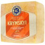 Сыр Клуб Сыра Крымский с козьим молоком 50% весовой