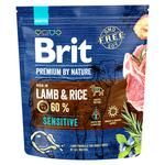 Dry food for dogs with sensitive digestion Brit Premium Sensitive Lamb & Rice lamb 1kg