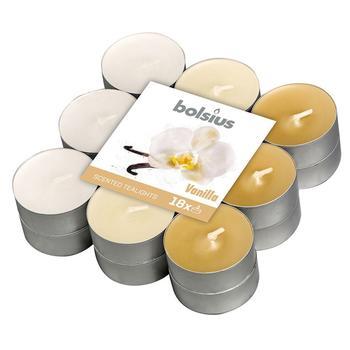 Свечи-таблетки Bolsius Ваниль 4г х 18шт