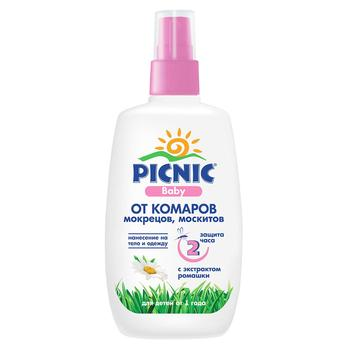 Picnic Baby Mosquito Spray Lotion for Children from 1 years old 100ml - buy, prices for MegaMarket - photo 1