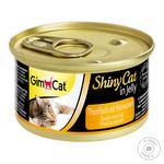 Gimborn Gimcat ShinyCat Cat Food With Tuna and Chicken 70g