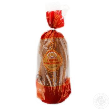 Хлебец Формула вкуса с отрубями нарезанный 500г - купить, цены на Ашан - фото 1