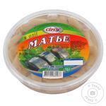 Оселедець філе-шматочки Сіріус Матье Мексика в олії 200г