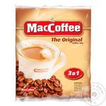 Напій кавовий Маккофе 3в1 оріджинал розчинний в стіках 25х20г