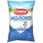 Молоко Ромол пастеризованное 2,5% 870г