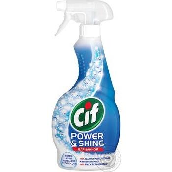 Средство Cif для очистки ванной 500мл - купить, цены на Novus - фото 1