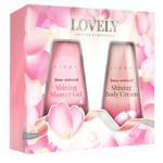 Подарочный набор Liora Lovely Крем для тела 150мл + Гель для душа 150мл