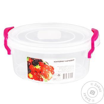 Контейнер Ал-Пластик харчовий 2,1л - купити, ціни на Novus - фото 1