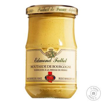Edmond Fallot Burgundy Mustard with White Wine 210g