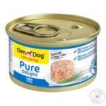 GimDog Pure Delight Dog Food With Tuna 85g