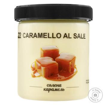 Мороженое La Gelateria italiana соленая карамель 330г - купить, цены на Novus - фото 1