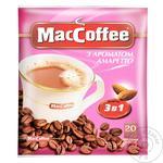 Кава MacCoffee Amaretto 3в1 18г
