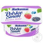 Bakoma Yogurt Polish Flavors Forest Berries 120g