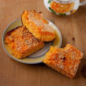 Морковный пудинг из вымоченной моркови