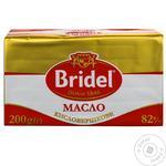 Масло Bridel кислосливочное 82% 200г