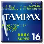 Tampax Super Tampons 16pcs - buy, prices for Metro - image 2