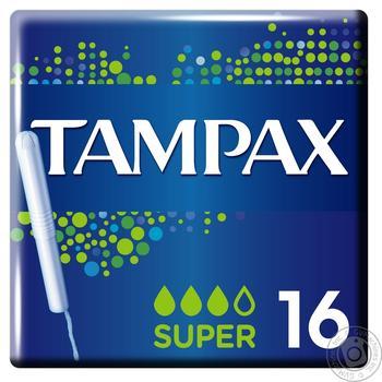 Тампоны Tampax Super 16шт - купить, цены на Метро - фото 2