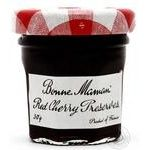 Jam Bonne maman cherry 30g glass jar