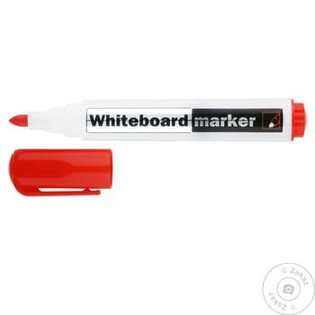 Маркер Delta Whiteboard D2800 для доски красный 2мм