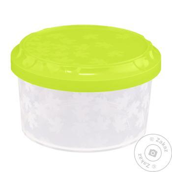 Ємність для морозилки Rukkola Twist кругла з кришкою 0,6л - купити, ціни на CітіМаркет - фото 1