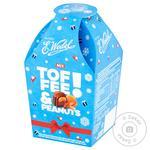 Конфеты шоколадные E.Wedel Тоффи и Арахис пралине микс 136г