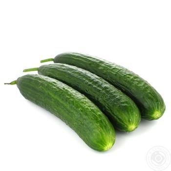 Smooth Ukrainian Cucumbers - buy, prices for Auchan - image 1