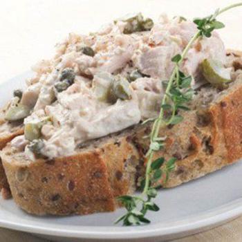 Бутербродна паста из тунца