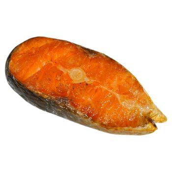 Лосось копчений риб цех - купити, ціни на Фуршет - фото 1