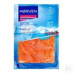 Форель Norven холодного копчения нарезанная 120г - купить, цены на Ашан - фото 2