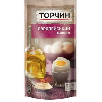 Майонез ТОРЧИН® Європейський 160г - купити, ціни на Фуршет - фото 1