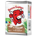 Vesela Korivka With Mushrooms Processed Cheese 38% 90g