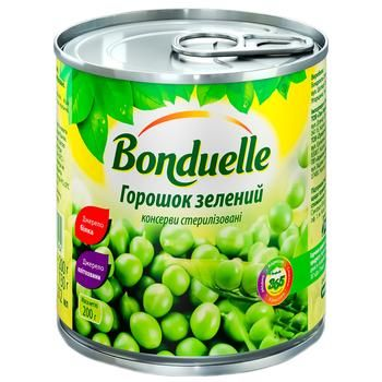 Bonduelle Green Peas 212ml - buy, prices for CityMarket - photo 1