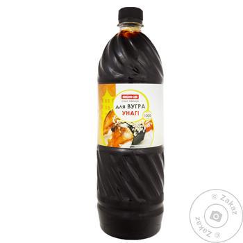 Соус соевый для угря Hokkaido Club Унаги 1000мл - купить, цены на Таврия В - фото 1