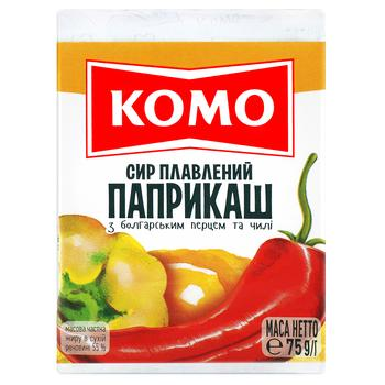 Komo Processed Cheese Paprikash 55% 75g - buy, prices for Novus - image 1