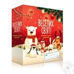 Liora Happy Holidays Cosmetic Children's Gift Set Mandarin Shower Gel 250ml + Chocolate Cream Soap 250ml