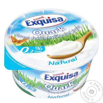 Exquisa Natural Curd Dessert 0,2% 500g
